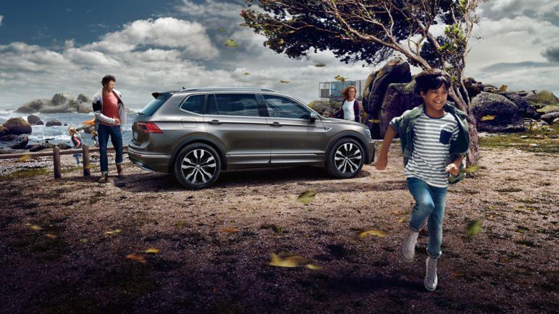 Volkswagen Tiguan Allspace SUV sett fra siden