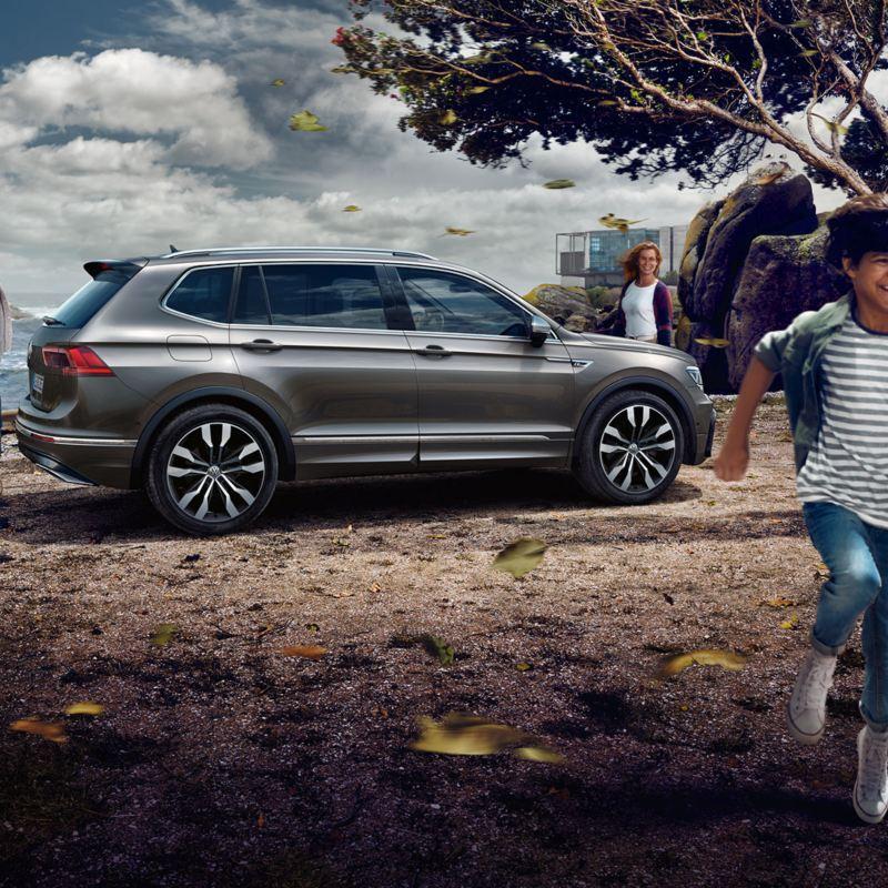 Volkswagen Tiguan Allspace'i külgvaade