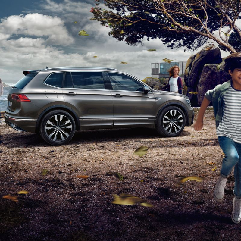Volkswagen Tiguan Allspace. Ready for any adventure.