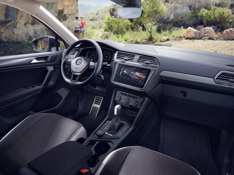 VW Tiguan Offroad wnętrze