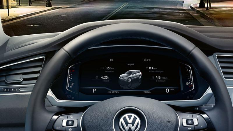Fahrzeugdaten im Active Info Display