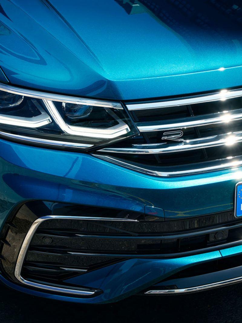 Front og støtfanger på nye VW Volkswagen Tiguan SUV