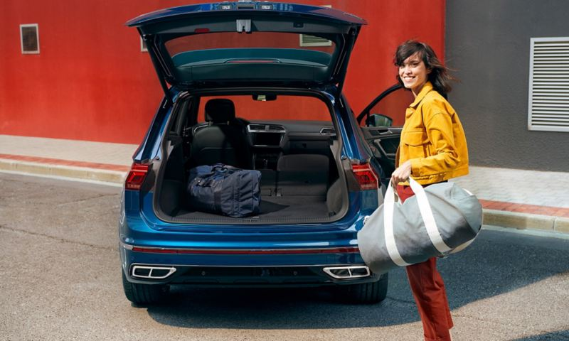 Tiguan luggage