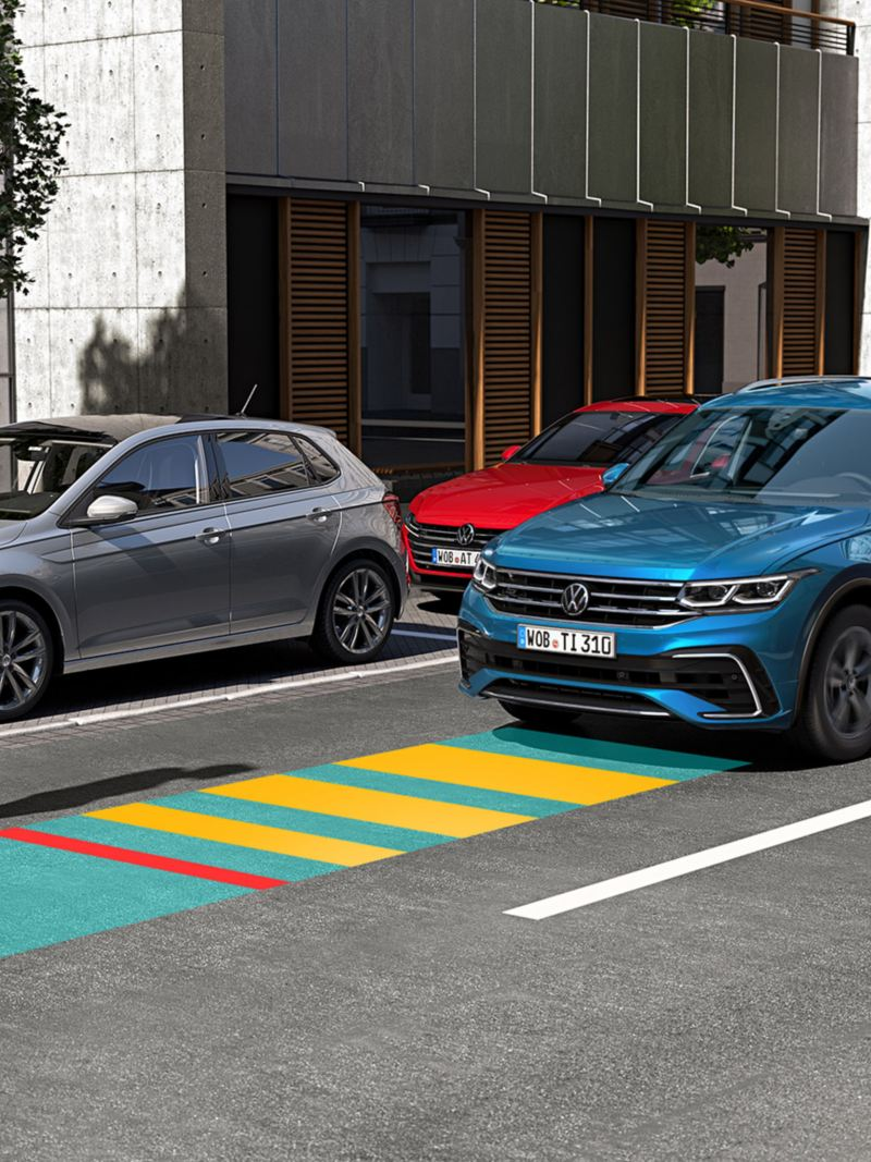 Graphique : Front Assist du VW Tiguan