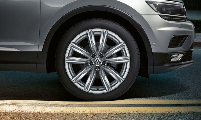 17 inch Kapstadt alloy wheels on the Volkswagen Tiguan