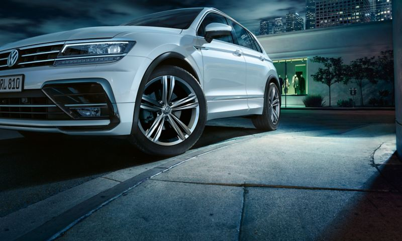 Tiguan R-Line, focus on rim Sebring