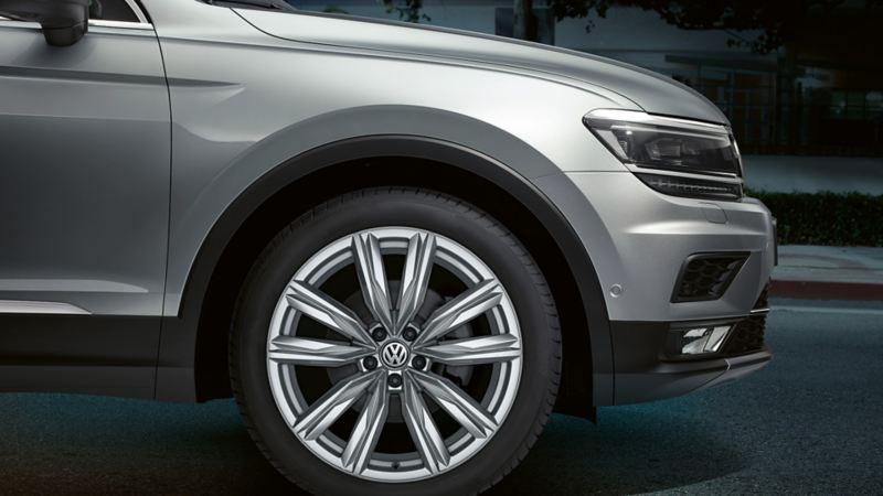 detailed image of VW Tiguan rim