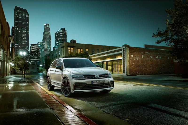 """Tiguan with R-Line """"Black Style"""" exterior package"""