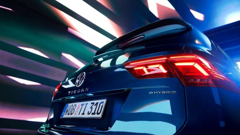 Volkswagen VW Tiguan ladbar hybrid SUV
