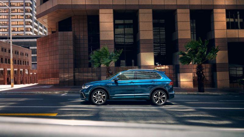 Volkswagen Tiguan - fyrhjulsdrift