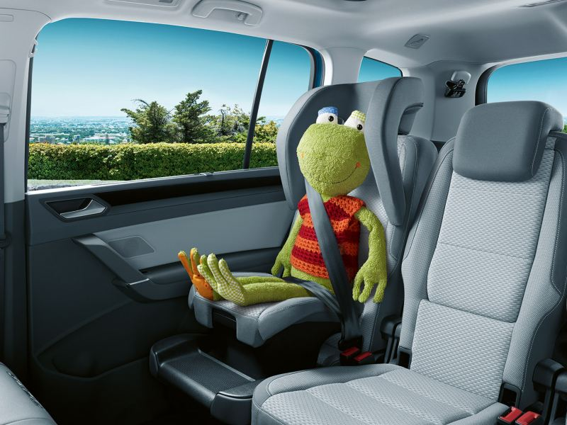 Bakseter i familiebilen Volkswagen Touran