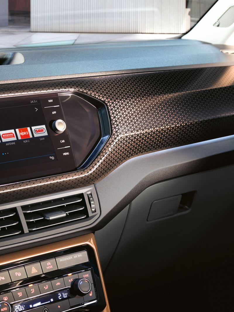 VW T-Cross interior dashboard
