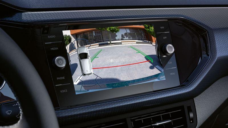 Volkswagen ryggekamera assistentsystem