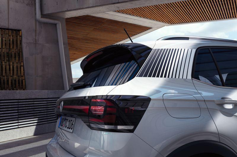 Bakre sida av Volkswagen