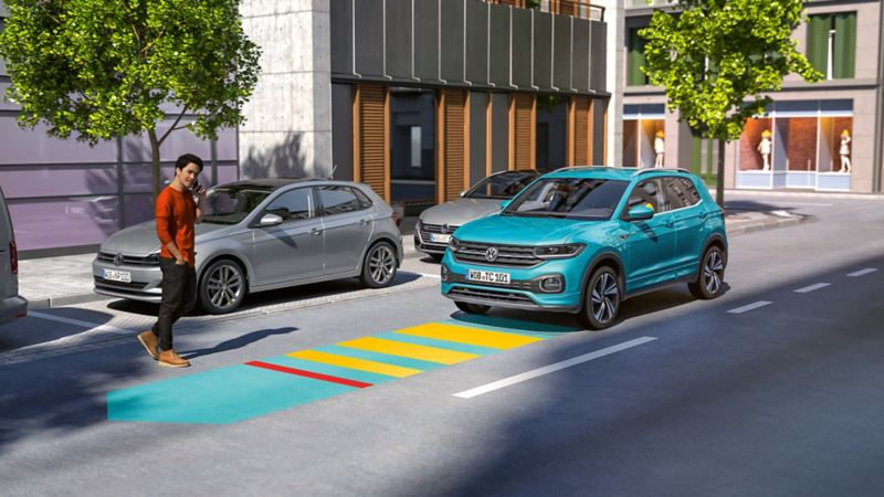 Volkswagen Front Assist T-Cross SUV