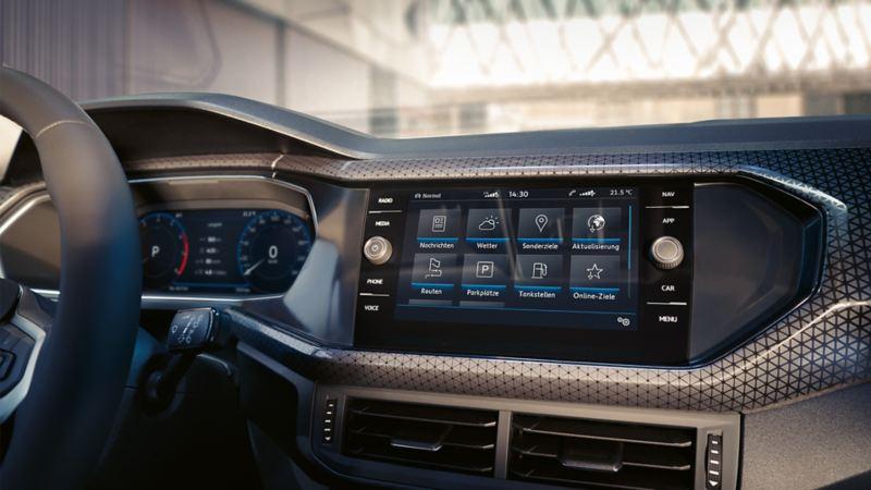 """Discover Media mit Car-Net Guide & Inform  Screen"""