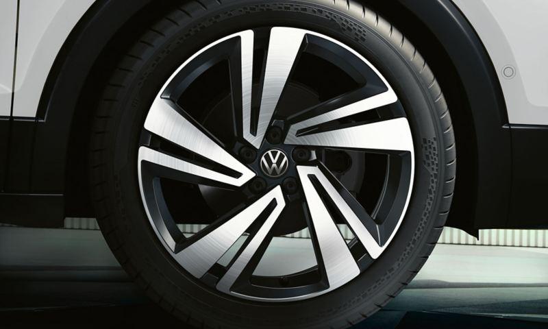 """Style Exclusive utstyrsversjon Nevada 18"""" lettmetallfelger på Volkswagen T-Cross"""