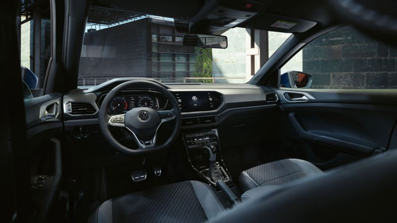 Førermiljø i Volkswagen T-Cross