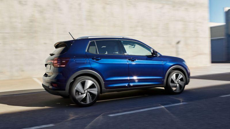 VW T-Cross UNITED R-Line Paket Exterieur Ansicht