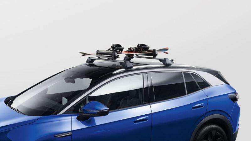 Skiholder for takstativ til VW Volkswagen ID.4 elbil SUV