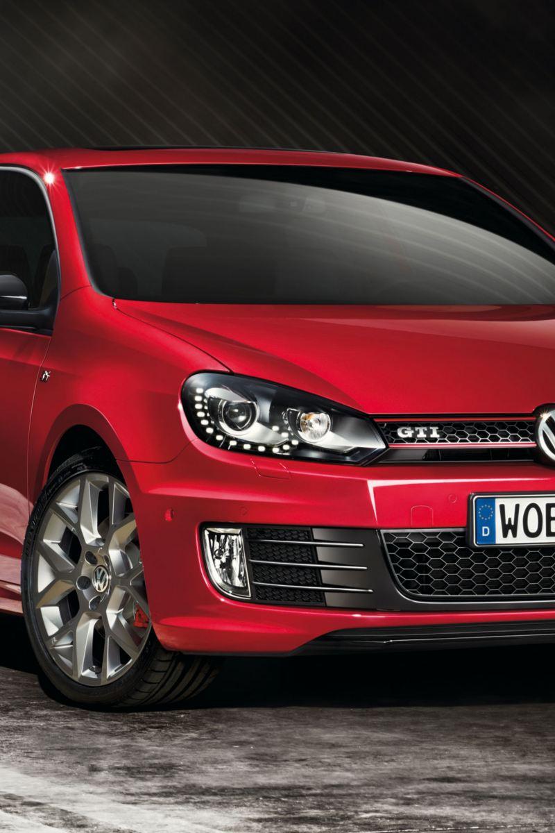 Frontale Volkswagen Golf 6 GTI edition 35