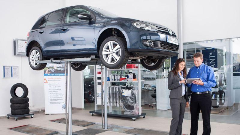 garage Volkswagen