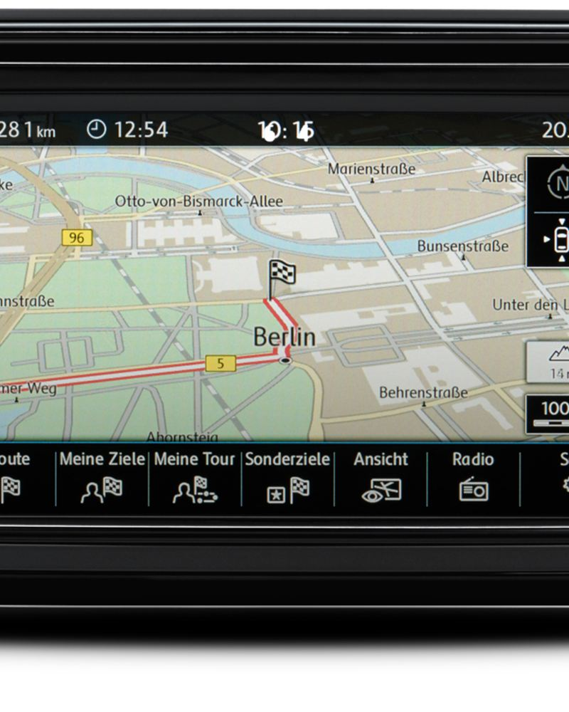 Updates van Discover media navigatiesysteem