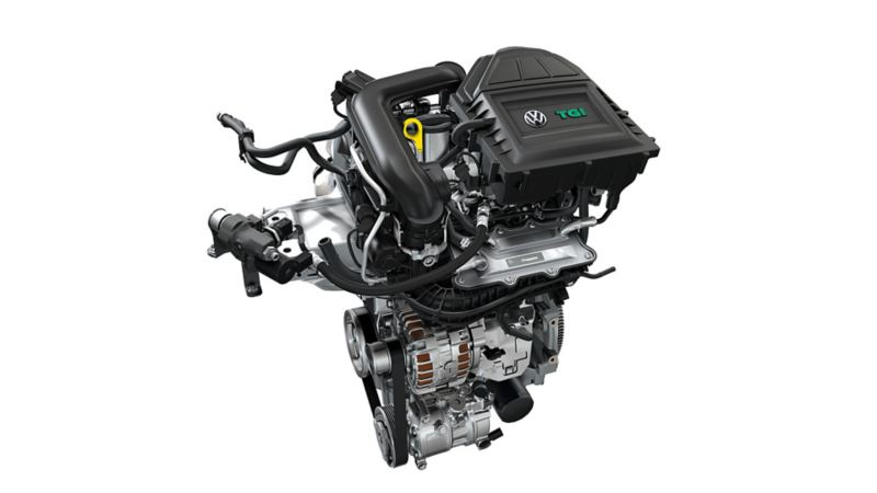 Picture of a natural gas engine