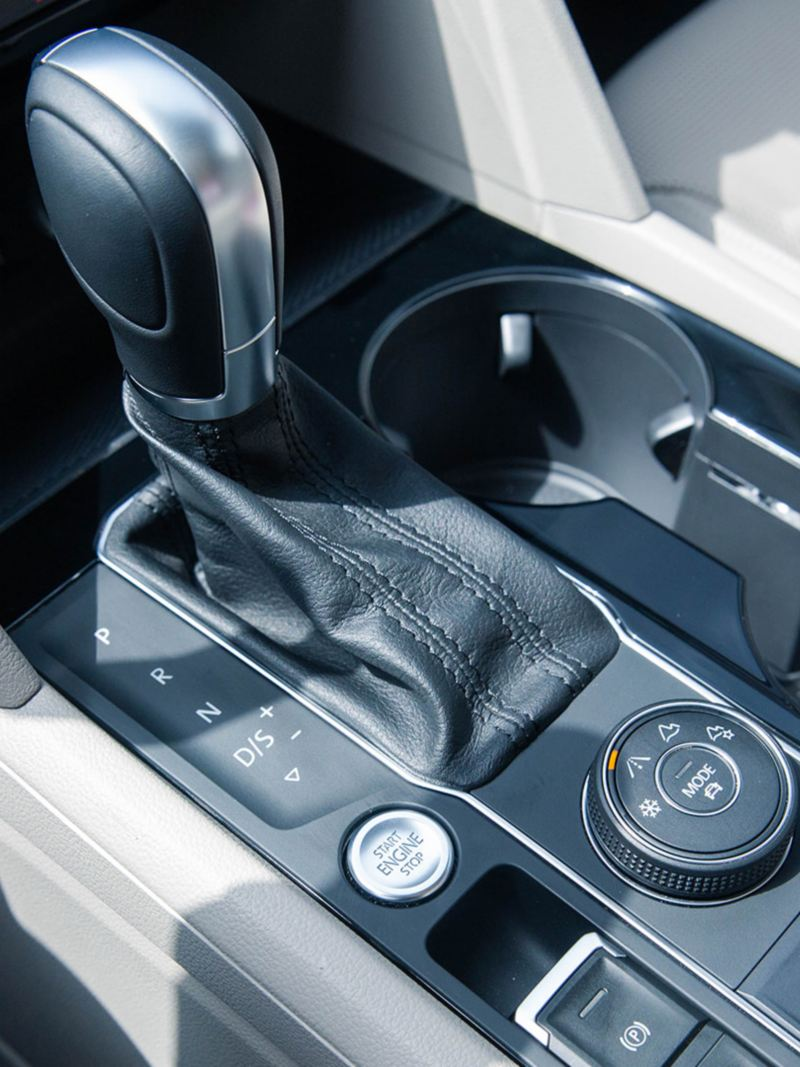 Driving gear select and 4motion in the Volkswagen Teramont