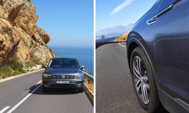 Tiguan Allspace on the Road