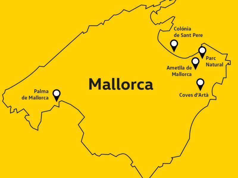 Mallorca en Tiguan