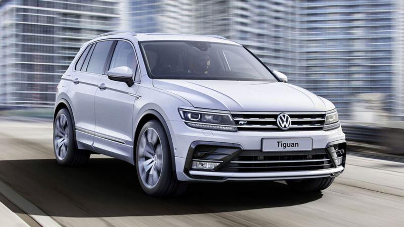 SUV Nuova Tiguan: spazioso, innovativo e tecnologico. Adatto cin città e come fuoristrada