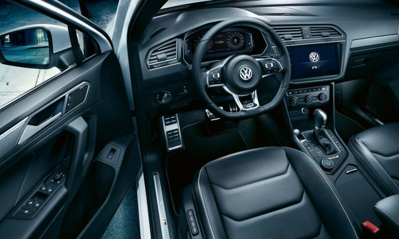 R-Line interior of the Volkswagen Tiguan