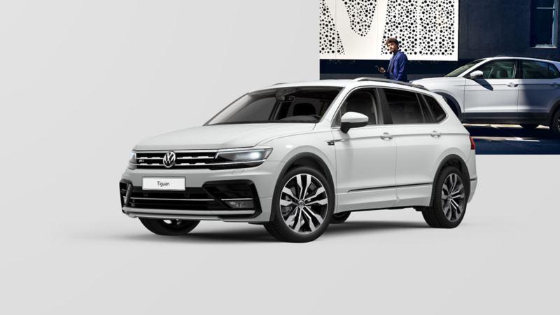VW Tiguan Allspace z boku