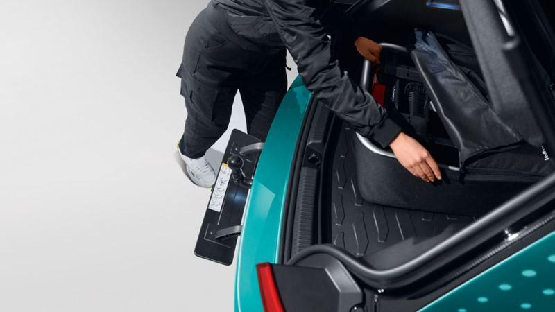 Transportfeste for frakt av sykler og last på VW Volkswagen ID.3