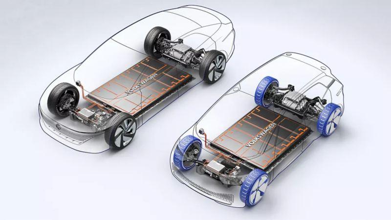 Tipos d ebaterias para automóviles eléctricos