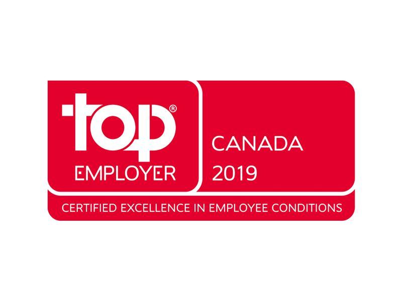 Top employer award 2019