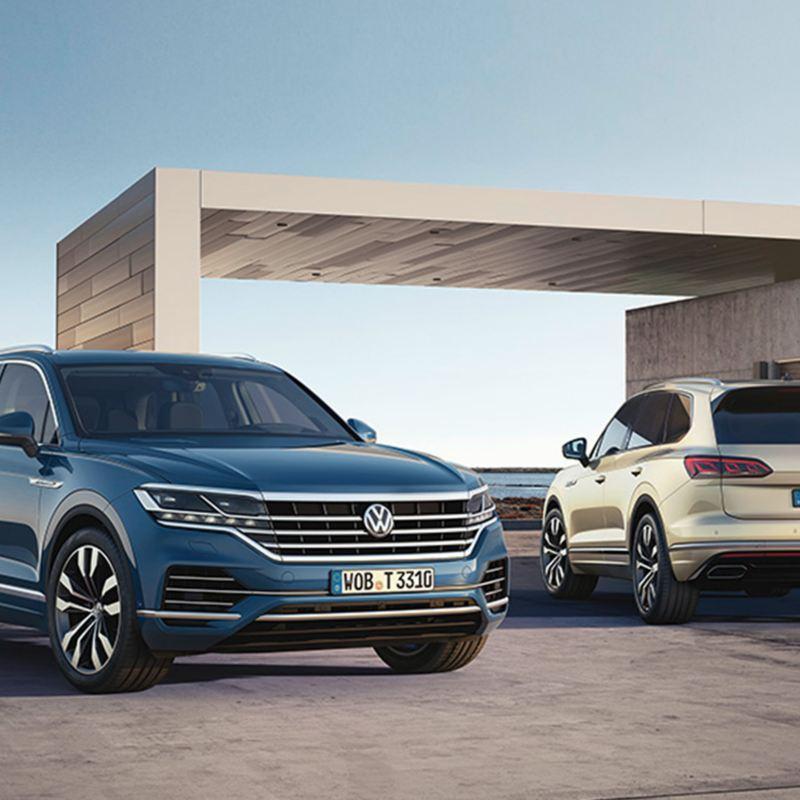 Volkswagen Touareg SUV firehjulstrekk