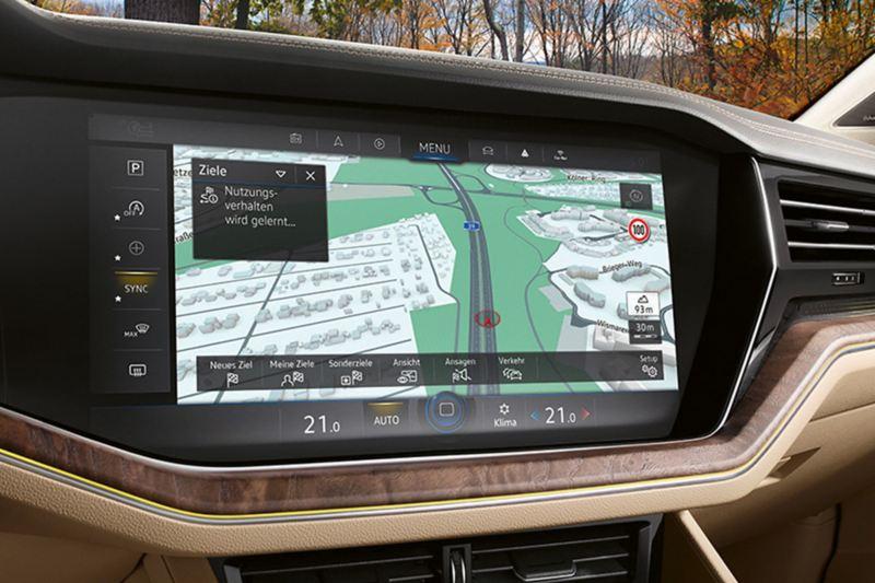 Car-Net Discover Pro do VW Touareg