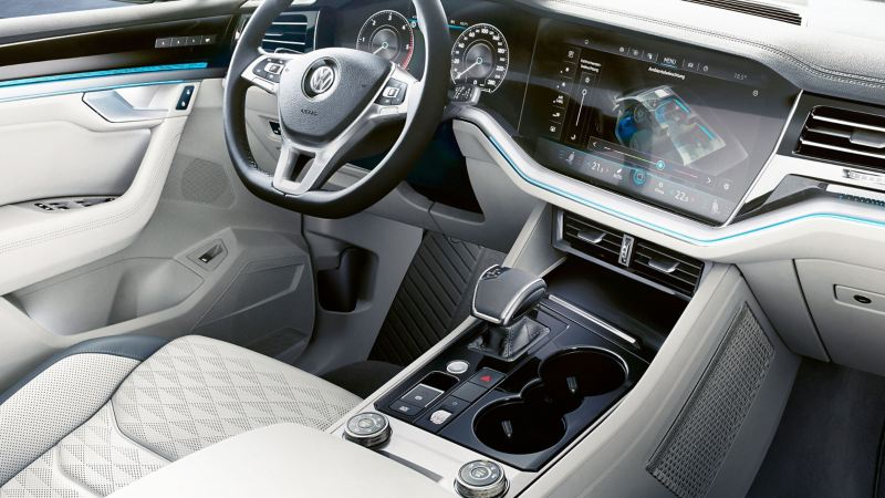 Innovision Cockpit in the Touareg