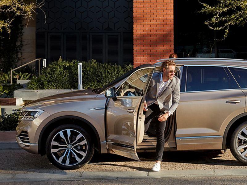 Ar VW Touareg varat mierīgi doties ikdienas gaitās.