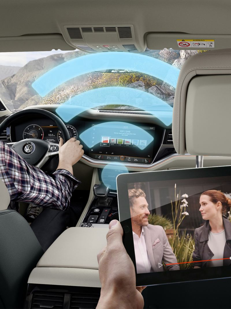 VW Touareg WLAN in your vehicle
