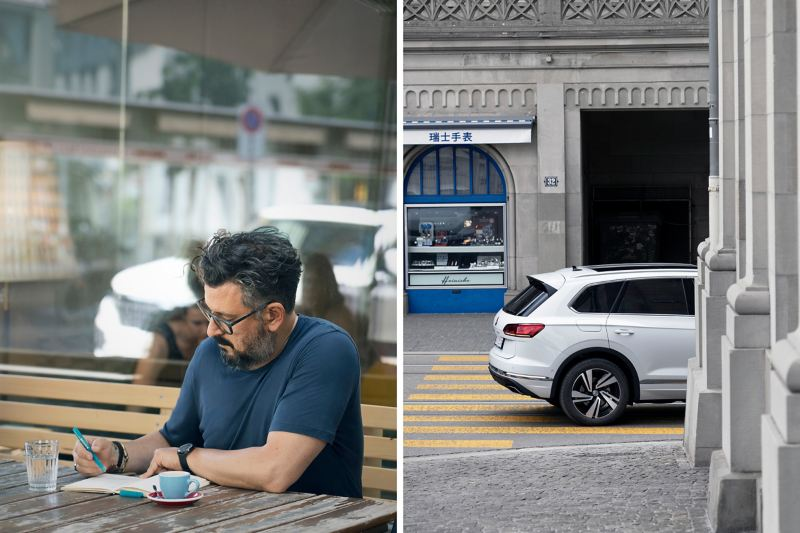 Zurich interior architect and designer Nader A. Taghavi and the Touareg