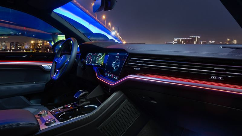 Volkswagen Touareg Black Edition interior lighting