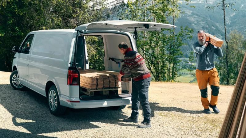 Inladen Transporter 6.1