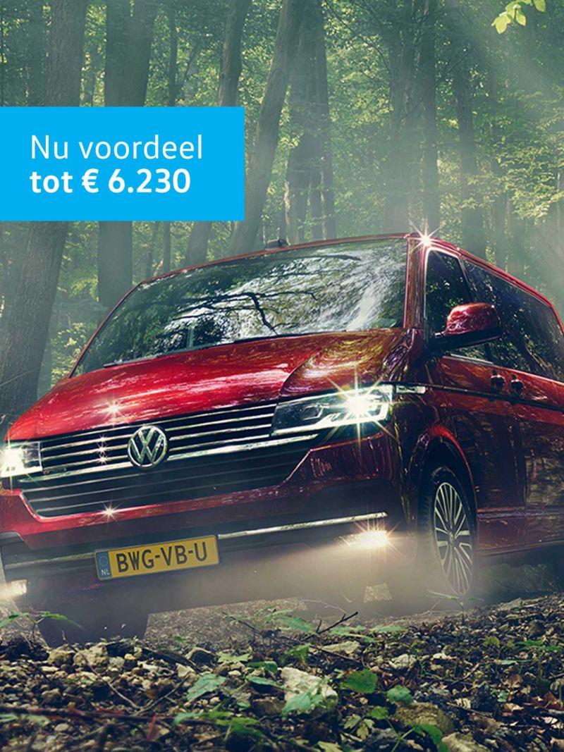Transporter 6.1 voordeel tot € 6.230