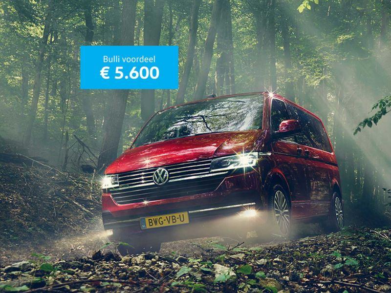 Bulli introductievoordeel van € 5.600