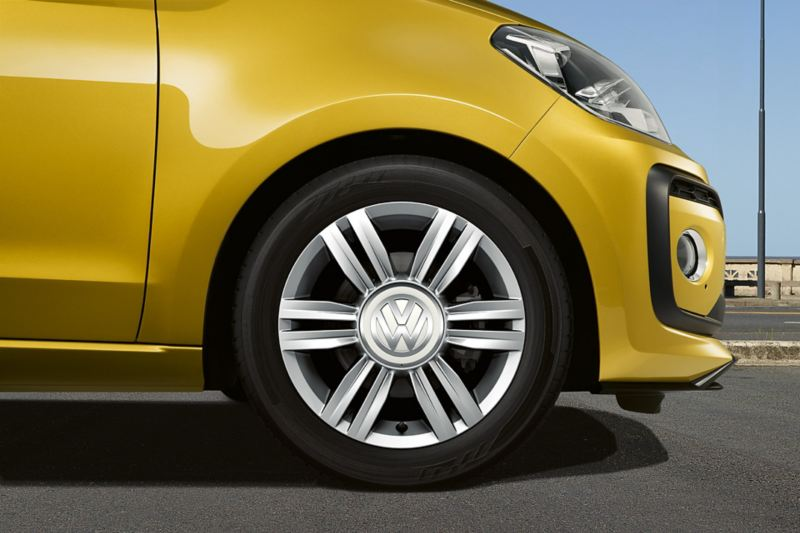 VW up! avec jantes «radial»