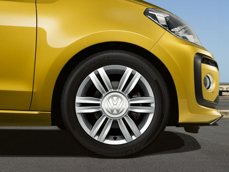 "VW up! with rim ""radial"""