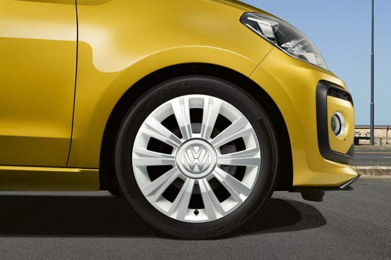 La Boca lettmetallfelger på Volkswagen up!